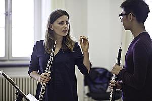 Unterricht Oboe bei Celine Moinet