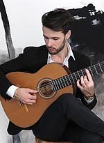 Marton Stummer - Gewinner einer der drei Sponsorenpreisen des 5. European Guitar Awards/Foto:privat