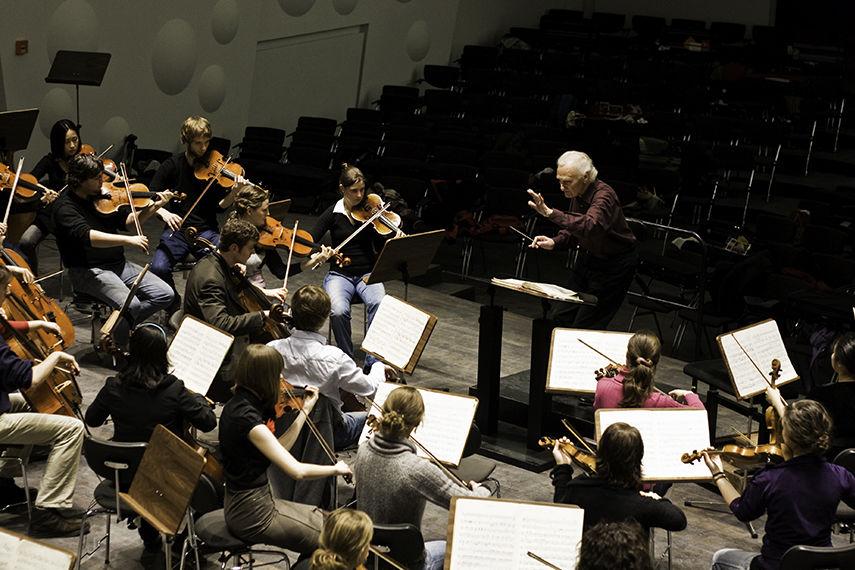 Orchesterworkshop/Foto: Marius Leicht