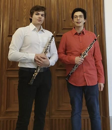 Rudolf Hiebendahl-Stipendiaten für Oboe 2021/Foto:privat