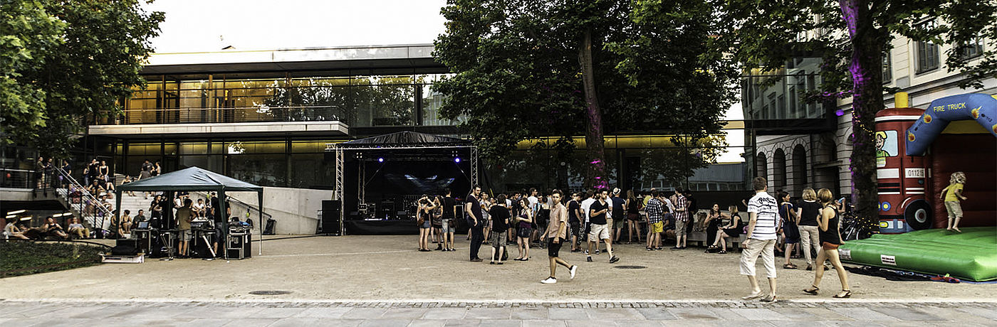 Sommerparty/Foto:Marcus Lieder