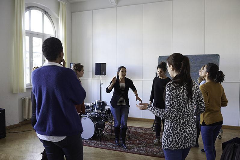 Vokale Improvisation/Foto: Stephan Floss