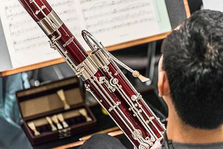 Fagottist/Foto: Marcus Lieder