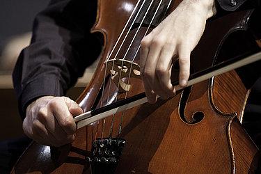 Cello/Foto: Marius Leicht
