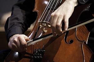 Cellist/Foto: Marius Leicht