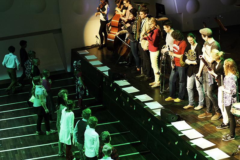 Instrumental- und Musikpädagogisches Projekt/Foto: Christian Hoffmann