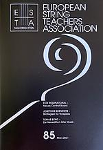 Fachmagazin der European String Teacher Association