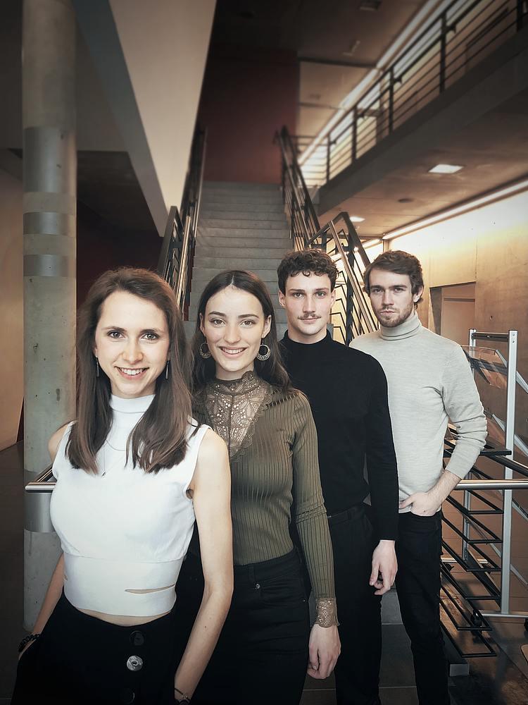 Karoline Weidt Quartett/Foto: Mia Van Kersten
