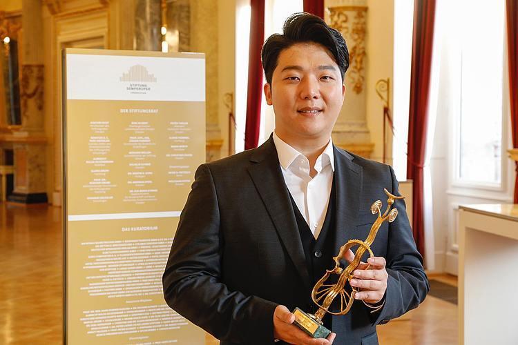 Beomjin Kim mit dem Curt-Taucher-Preis