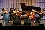 Ensemblewettbewerb 2021 Edith Quintett: Yeeun Suh (Violine), Joonbyeong Lee (Klavier), Youbin Min (Violine), Bitna Song (Violoncello), Minkyung Choi (Viola)/Foto: Sven Claus