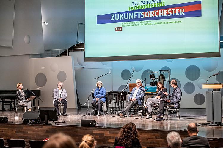 Fachkonferenz Zukunftsorchester/Foto: Marcus Lieder