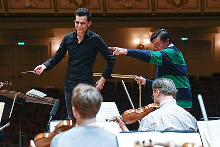 Christian Thielemann Tim Fluch Sächsische Staatskapelle/Foto: Matthias Creutziger