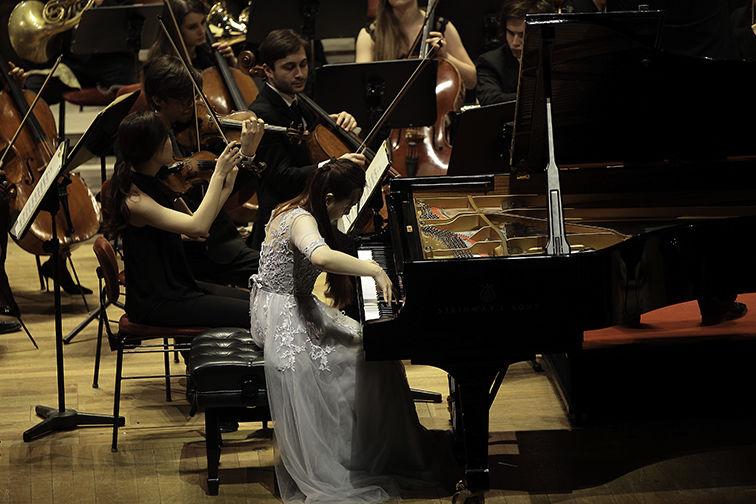 Matinee in der Semperoper, Klavierkonzert/Foto: Heidrun Schentke
