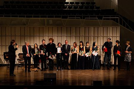 Preisträger des Ensemblewettbewerbs 2019 (Foto: Christian Vu)