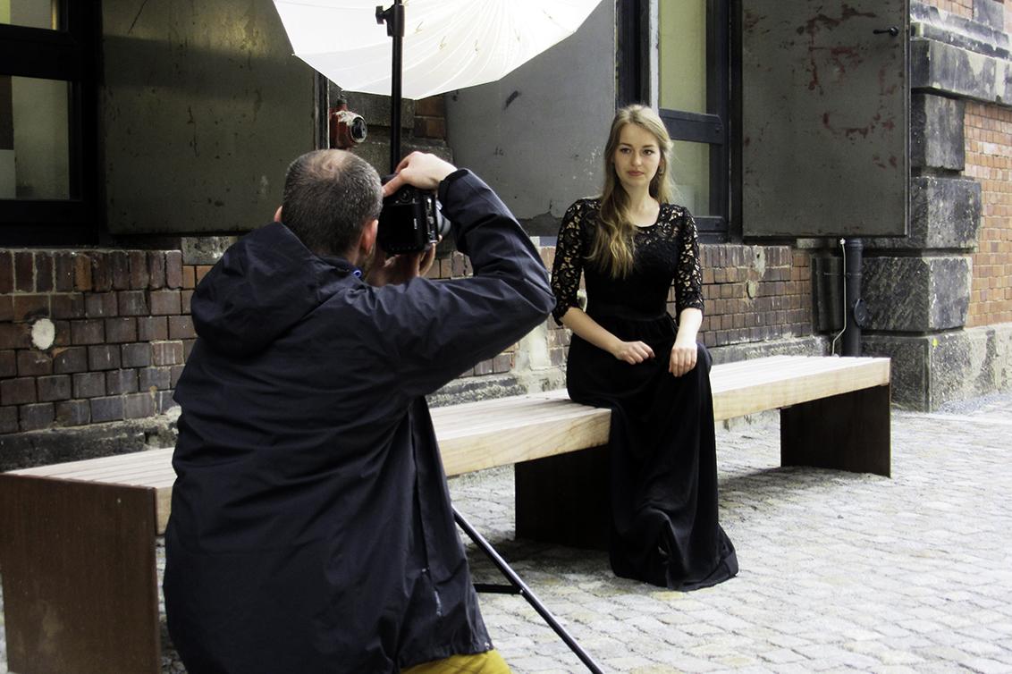 Workshop Fotoshooting/Foto: Claudia Syndram