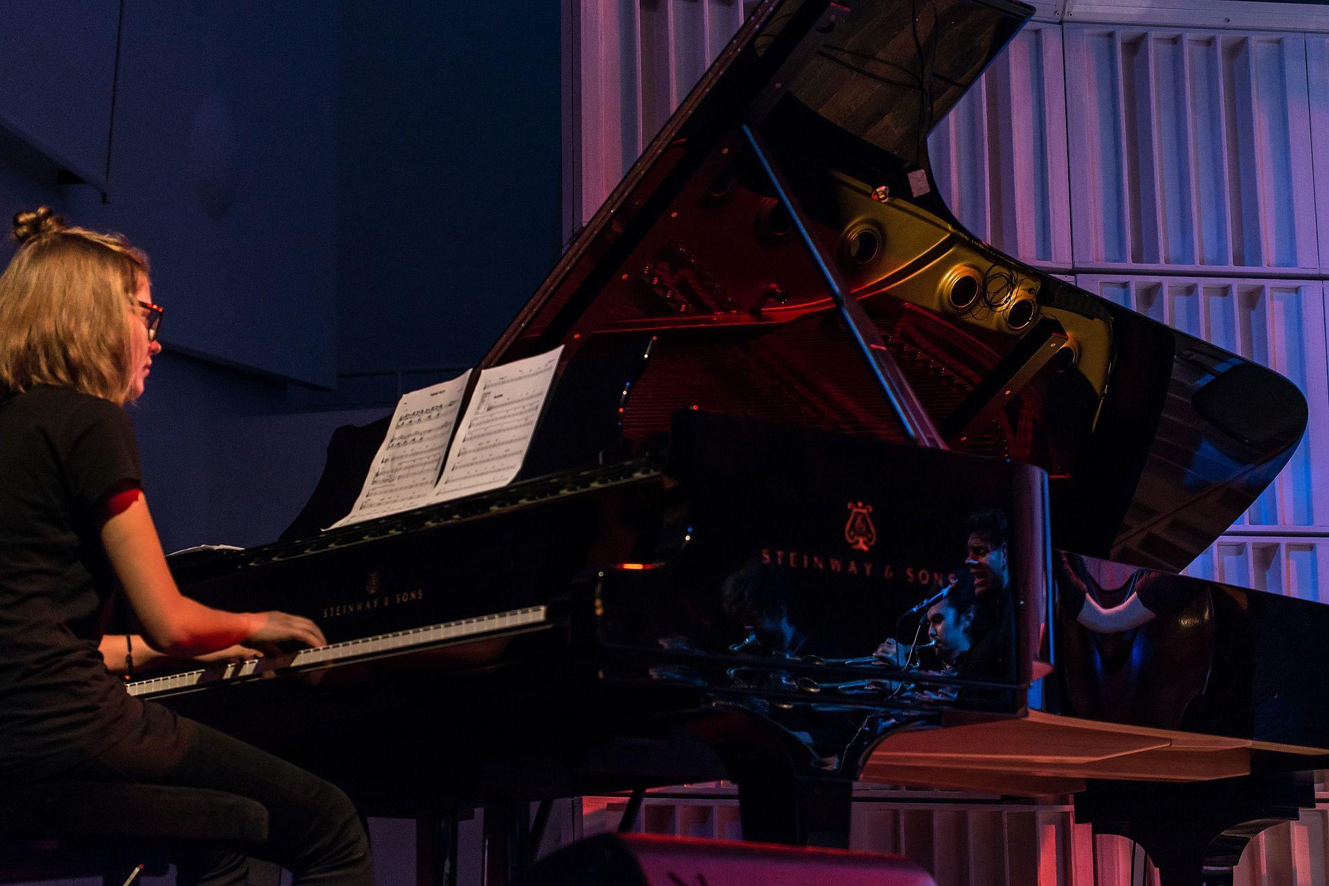 Pianistin/Foto: Marcus Lieder