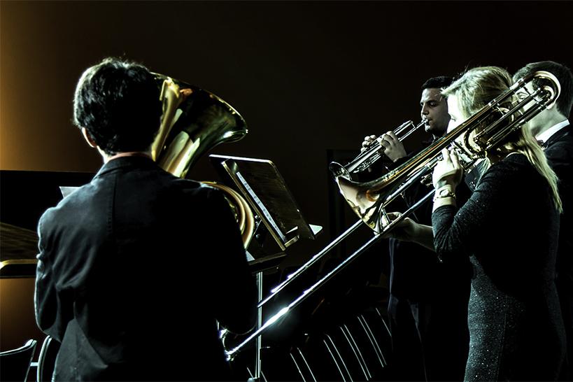Blechbläser im Konzert/Foto: Marcus Lieder