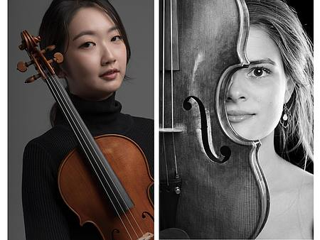 Hyunmin Oh und Ricarda Gloeckle/Fotos: privat