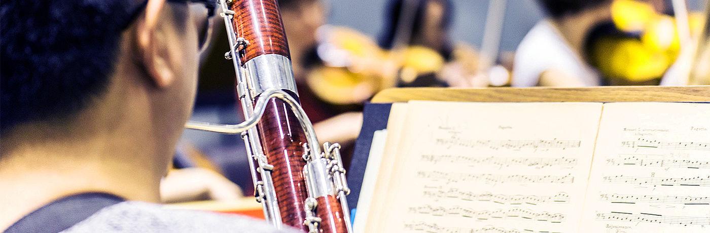 Fagott im Orchester/Foto: Marcus Lieder