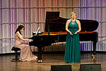 Ensemblewettbewerb 2021 Duet Euphonie: Seulgi Lee (Klavier), Paulina Bielarczyk (Gesang)/Foto: Sven Claus