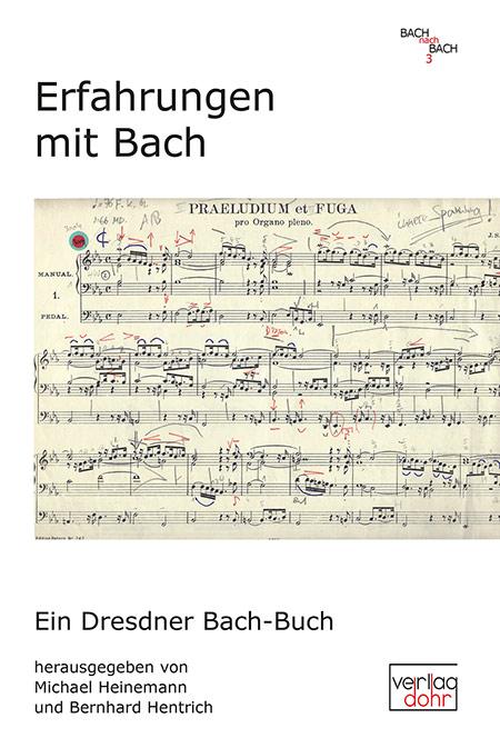 Buchcover Erfahrungen mit Bach/Foto: Dohr Verlag