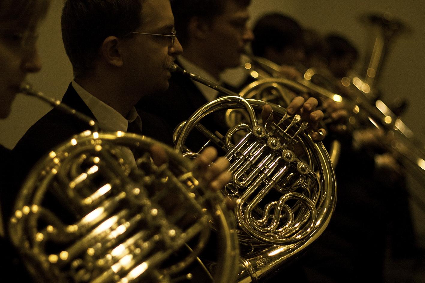 Hörner im Konzert