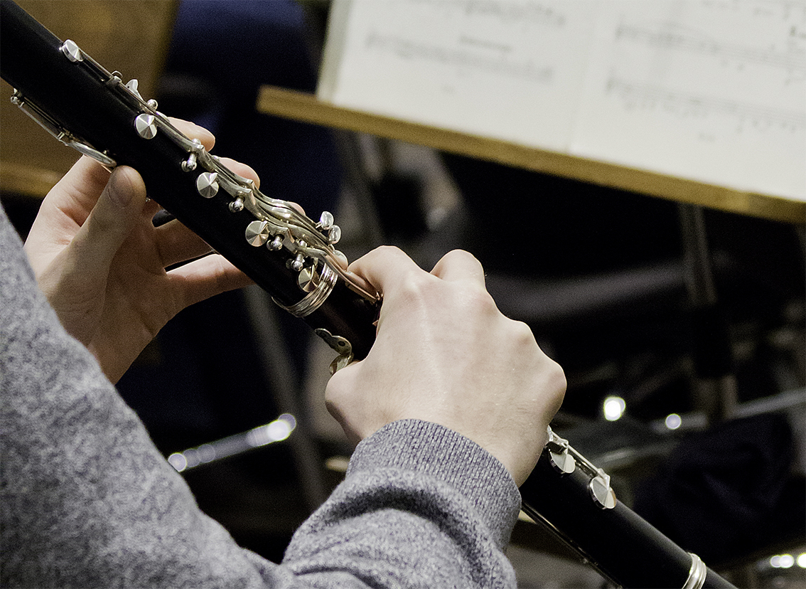 Klarinettenspiel