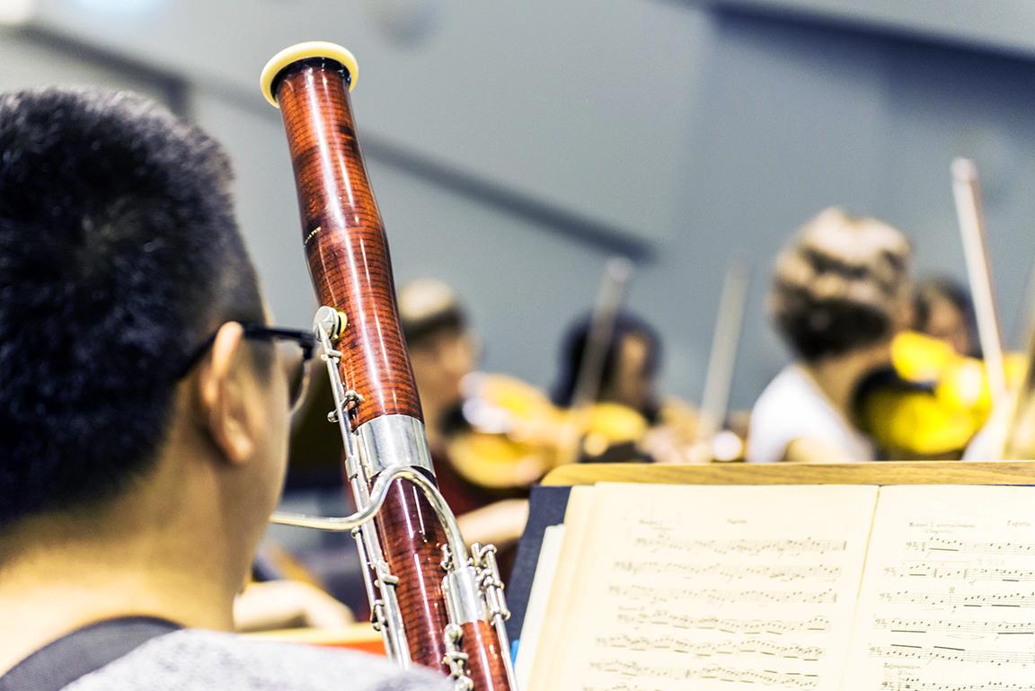 Fagott im Orchester
