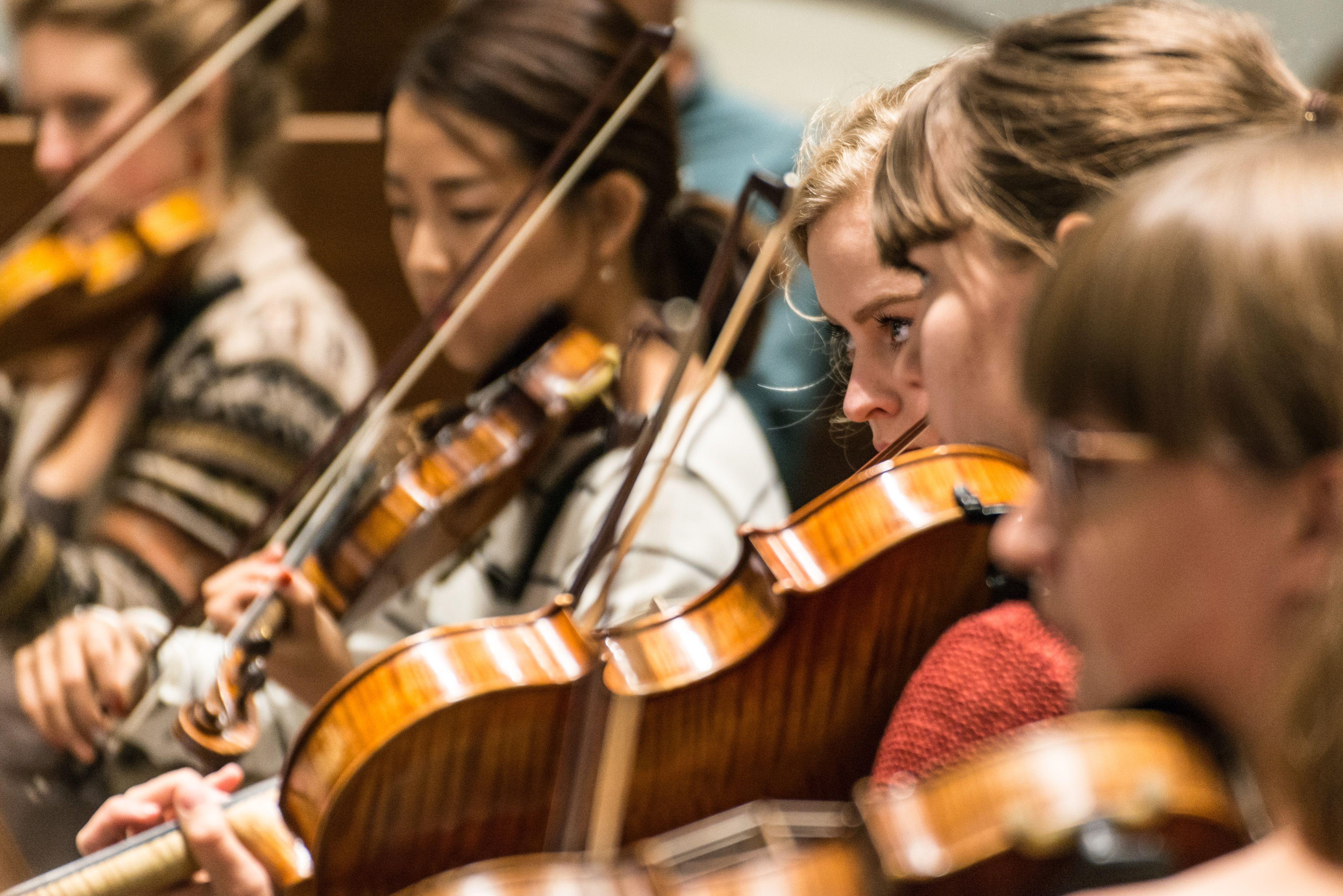 Hochschulsinfonieorchester - Foto: Marcus Lieder