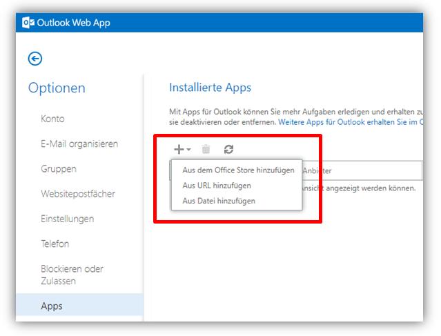 1.2.9 - Konten / Apps