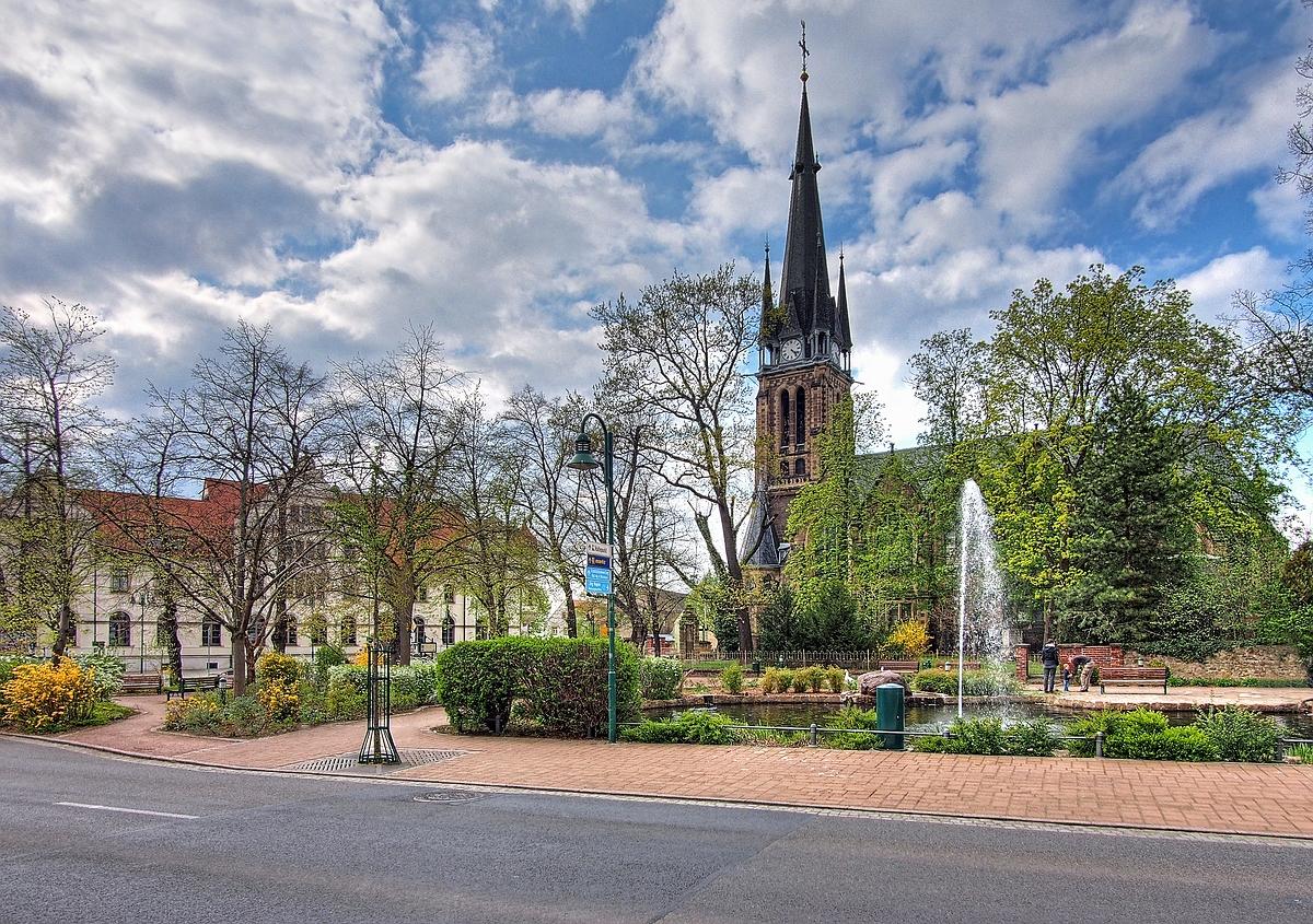 Kirche Weinböhla / Foto: Heinz Ziessow